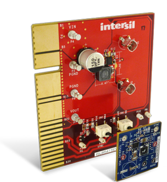 Intersil's latest synchronous buck regulator accepts from 3V to 36V with internal compensation