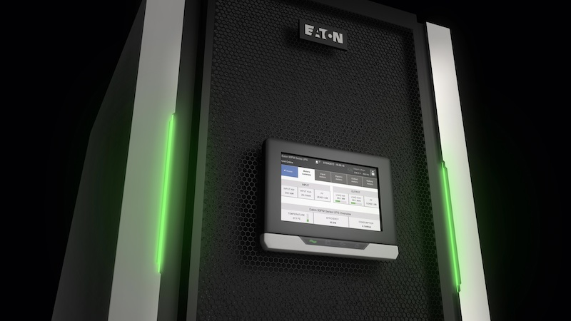 Eaton's 93PM UPS boasts market-leading efficiency, scalability and flexible deployment options