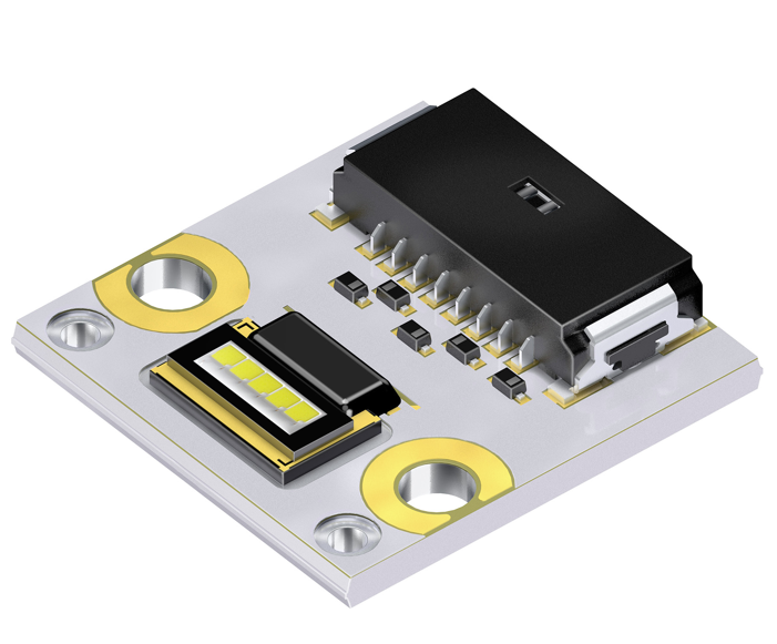 Multi-chip Osram Ostar headlamp module simplifies implementation of AFS