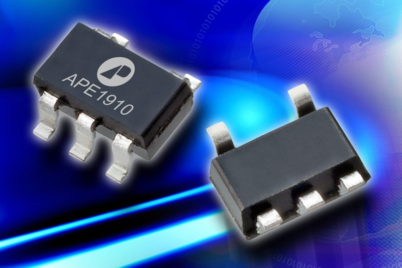 PFM DC/DC converter from Advanced Power Electronics saves space, cost