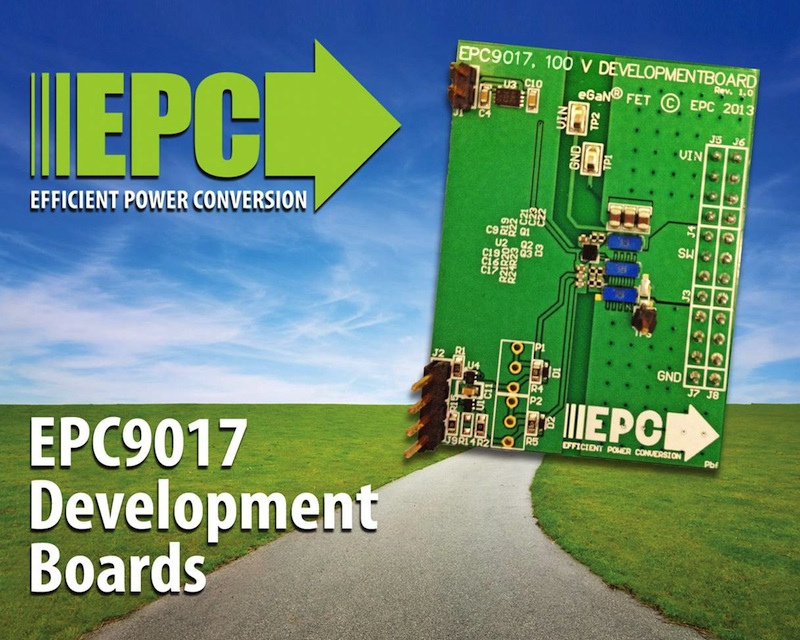 EPC releases development board highlighting 100V enhancement-mode GaN FETs in parallel