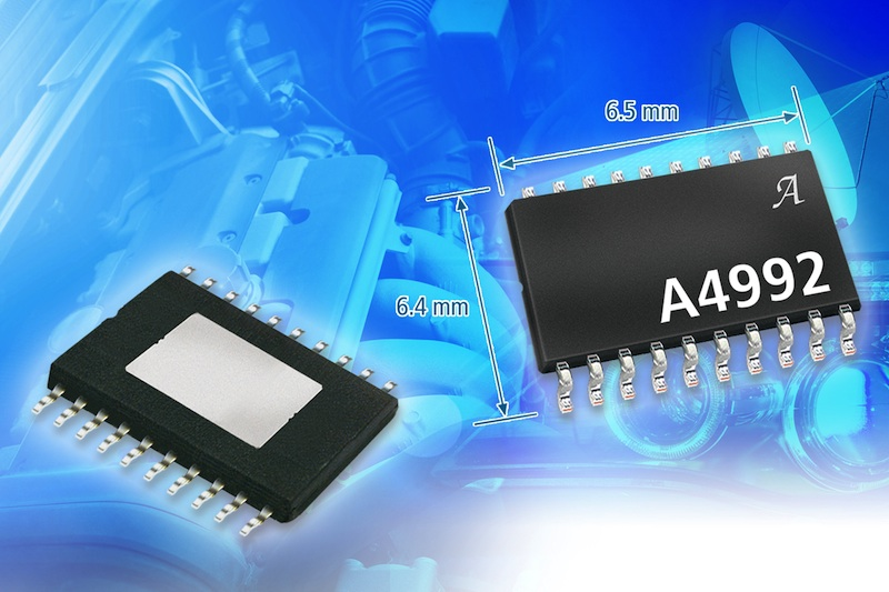 Microstepping motor driver IC from Allegro offers built-in translator for easy operation