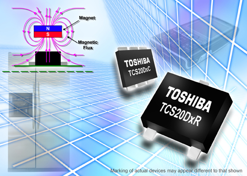 Toshiba Launches Ultra-Thin Digital Output Hall ICs