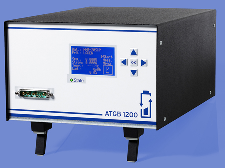 Battery Test Equipment ATGB 1200 Enables Fully Automatic Testing Of Battery Systems with Integrated Charging Electronics