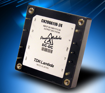 TDK-Lambda adds 200W Module to the CN-A Series