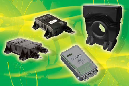 New Transducers from LEM Measure Traction Energy with Unprecedented Accuracy