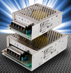 XP Power's Green Mode Low-Cost Chassis Mount Industrial Power Supplies
