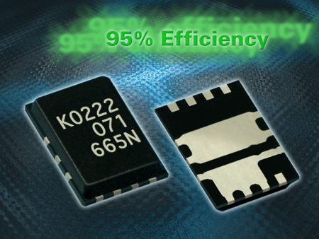 Renesas Introduces Power Semiconductors Capable of Reducing Mounting Area by Half