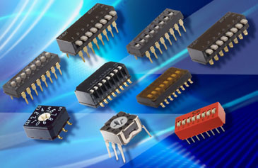 C&K Offers Largest, Most Versatile DIP Switch Line Available