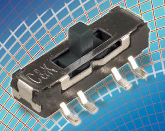 C&K Expands JS Series with Surface-Mount Miniature Slide Switch