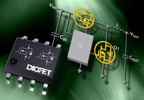 Diodes Delivers Plug-And-Play Efficiency Boost for Point-Of-Load Converters
