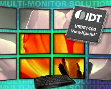 IDT Introduces World's First Single-Chip Displayport™ Device