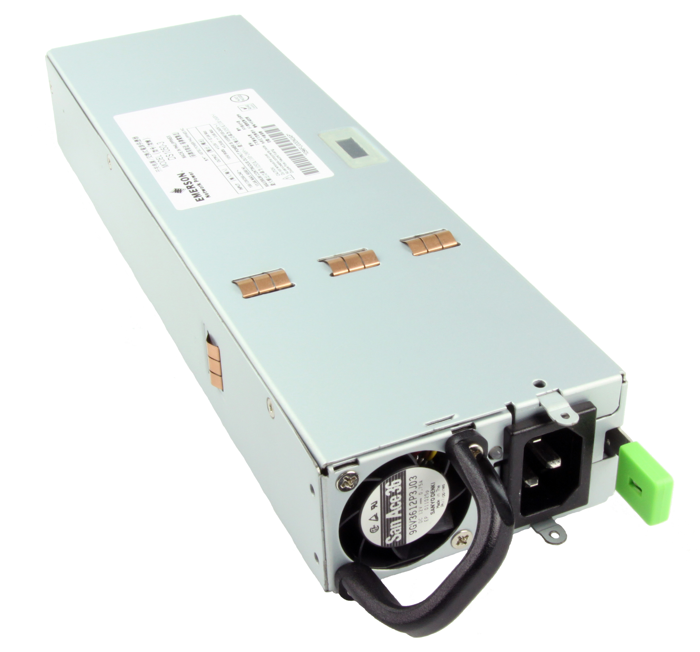 Emerson Network Power Adds DS1050-3 1050 Watt Model to Line of Gold Standard Efficiency Bulk Front End AC-DC Power Supplies
