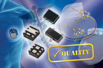 New Vishay Siliconix Medical MOSFETs for Implantable Applications