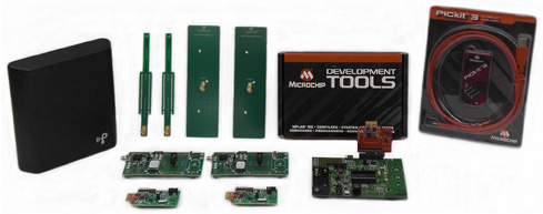 Microchip and Powercast Debut World's First RF Energy Harvesting Kit That Enables Battery-Free, Perpetually Powered Wireless Applications