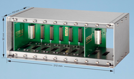 ERNI Electronics Demonstrates Alternatives to Direct-Mating Connector