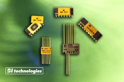 TT electronics BI Technologies Offers Ultra-Precision High-Reliability Custom Resistor Networks for Military/Aerospace Applications