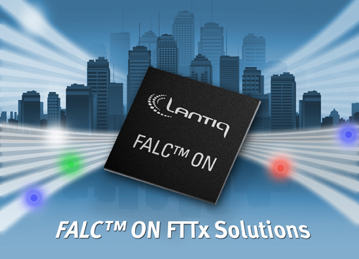 Lantiq Announces World's First GPON SoC Family with Integrated Optical Control Circuitry