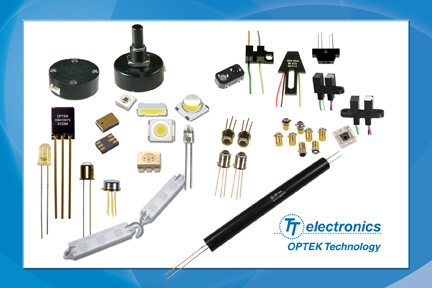 OPTEK Optoelectronic Components now available through TTI, Inc
