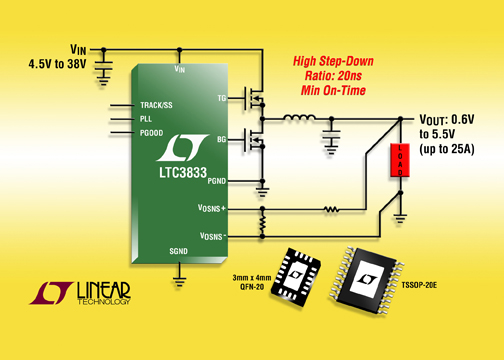 Linear's New DC/DC Controllers
