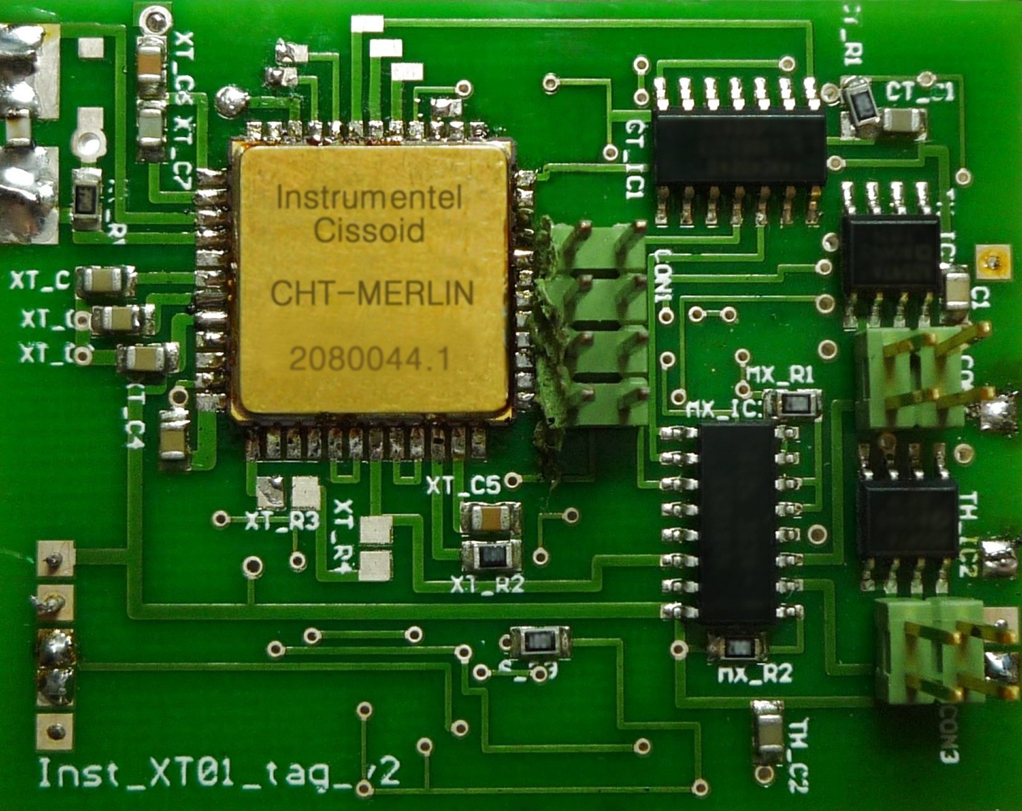 CISSOID and INSTRUMENTEL announce MERLIN, High Temperature, Battery-less, RFID Telemetry Chip