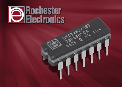 Rochester Electronics Expands QML Inventory to Include Fairchild Advanced Schottky Technology (FAST) Semiconductor Devices