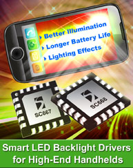 Semtech Delivers Industry's First Smart Current Sink LED Backlighting Platform