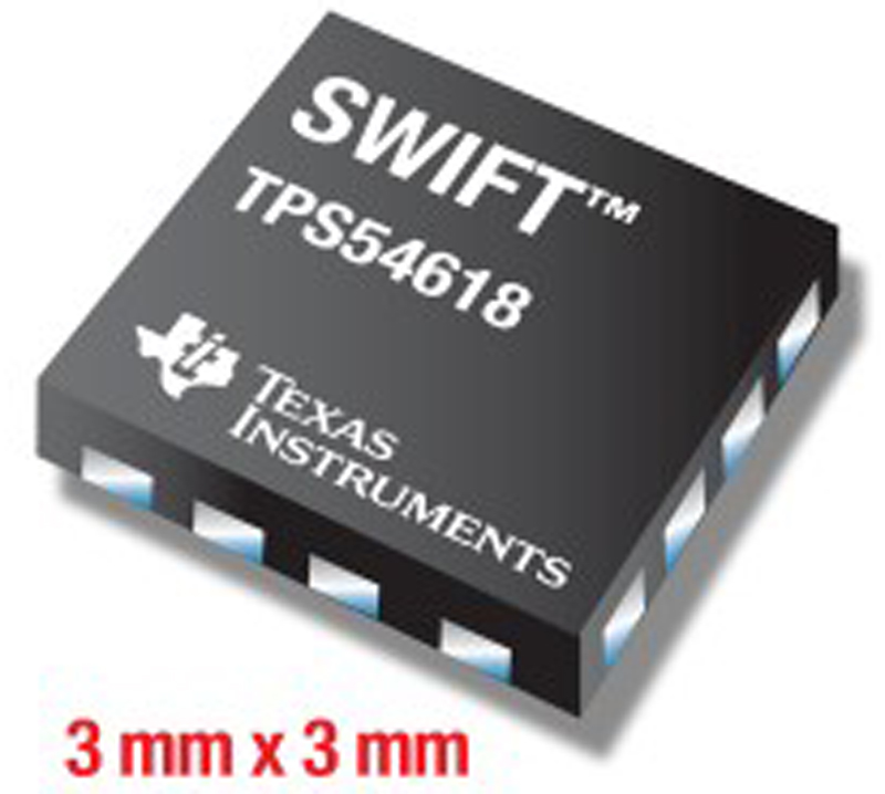 TI Introduces Smallest, Highest Efficiency-Step-Down SWIFT™ DC/DC Converter