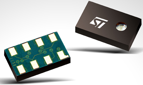 STMicroelectronics Takes Pressure Sensors to New Heights