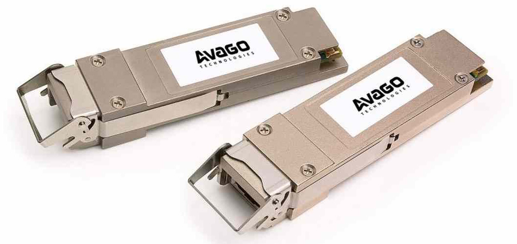 Avago's Industry-First Optical Module Enables Multimode 40-Gbps Ethernet Uplink Applications
