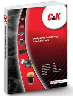 C&K Components' Catalog has 20 Million Standard Switch Options Available
