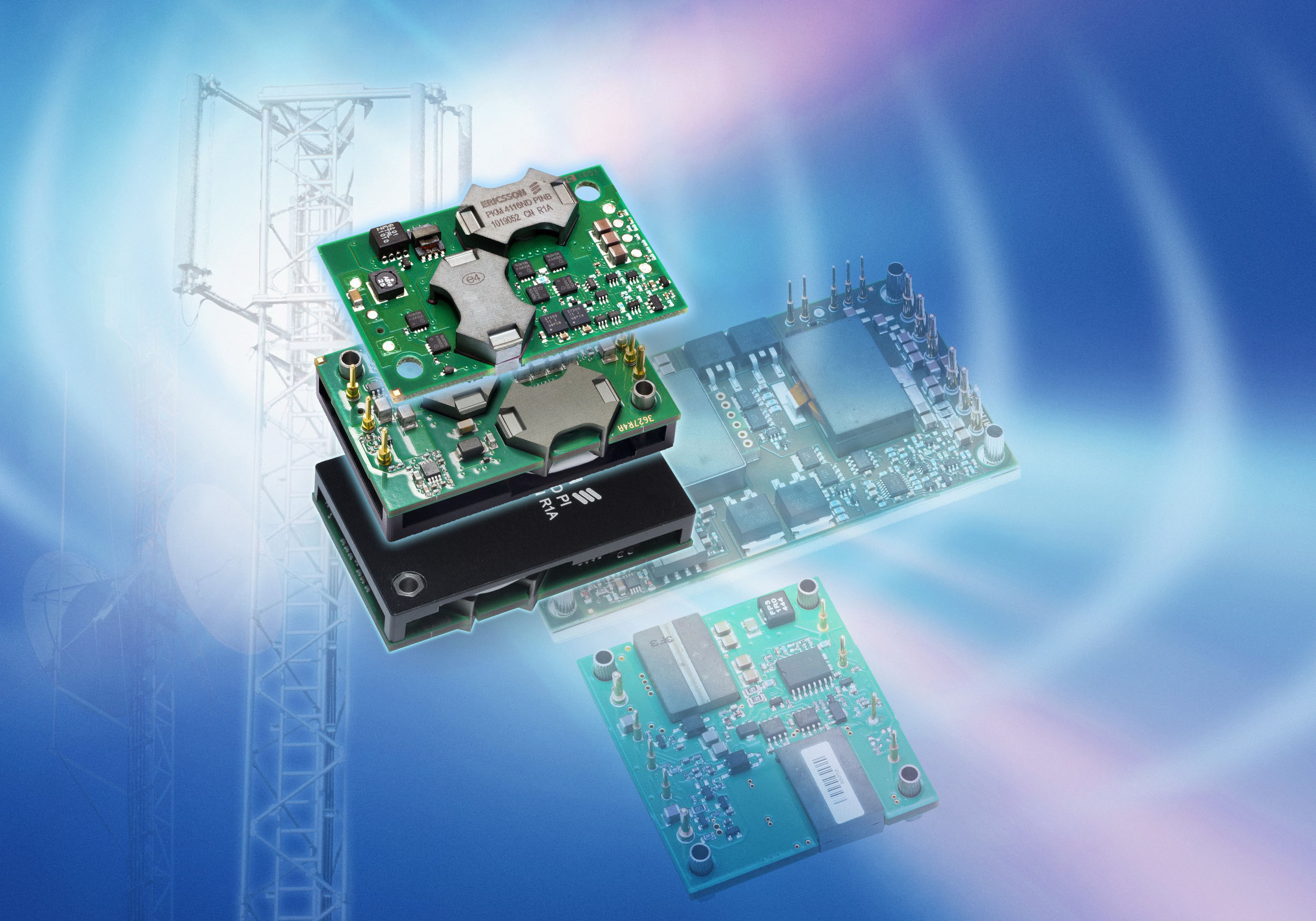 Ericsson's 100W 1/4 Brick DC/DC Converter Shortens Time-to-Market for Power Radio Applications