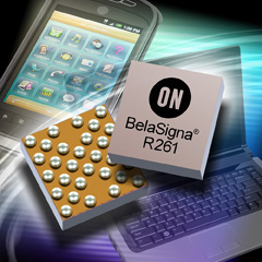 ON Semiconductor Unveils BelaSigna R261 High Performance Voice Capture System-on-Chip