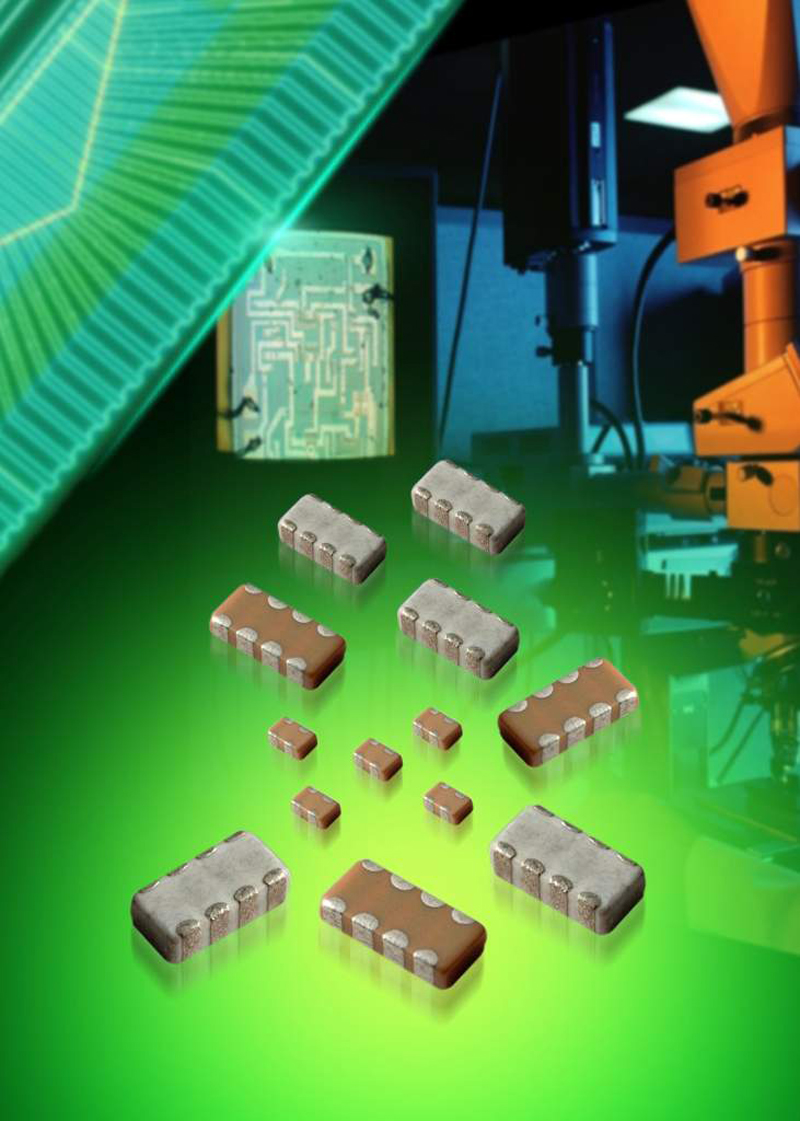 AVX Offers Widest Selection of MLCC Capacitor Arrays in the Industry