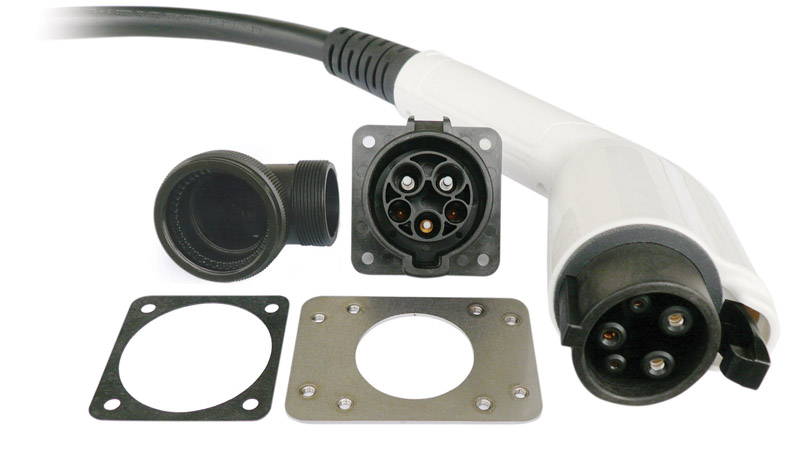 ITT's EVC Series SAE J1772 Electric Vehicle Charging Connectors Now Available from AvnetExpress.com