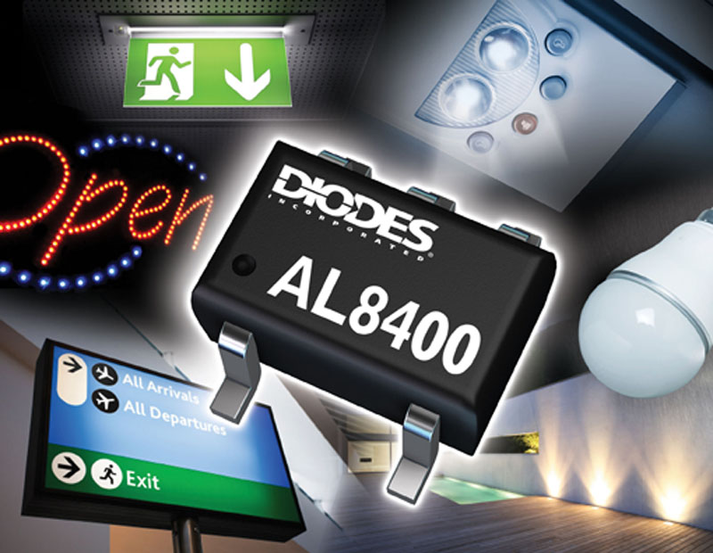 Diodes Incorporated Announces Linear Constant Current Driver - Versatile Control for LED Applications
