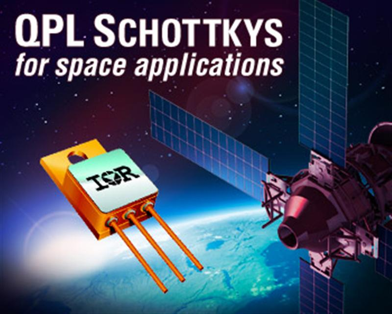 IR Expands QPL-Certified Schottky Rectifiers for Space Applications