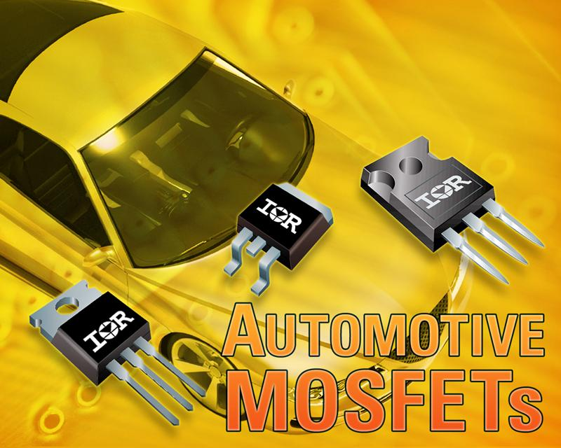 IR Introduces Family of Rugged Automotive Qualified Planar MOSFETs