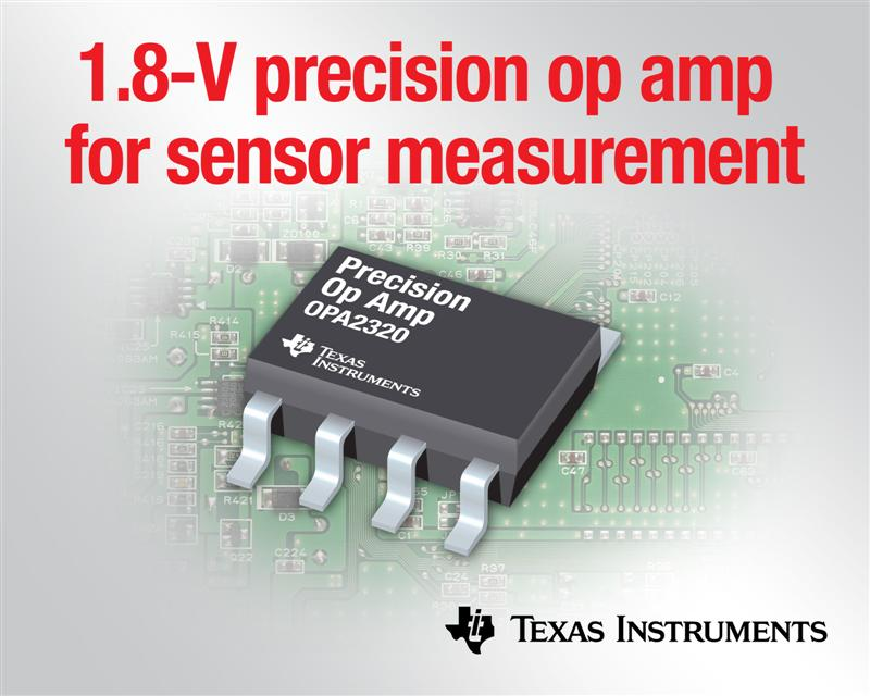 TI's New Low-Voltage Precision Op-amps for Sensor Measurement