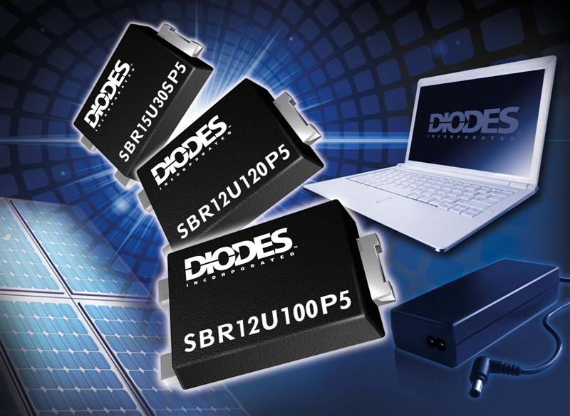 Diodes Inc. Rectifiers Increase Efficiency & Reduce Form Factor