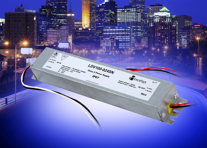 New Excelsys Ultra-Compact LED Drivers with a 5 Year Warranty