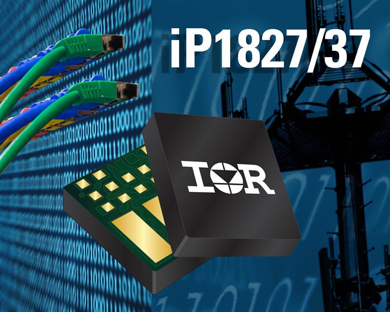 IR Introduces iP1837 and iP1827 Compact and Flexible Single Input Voltage DC-DC Regulators for High Current Applications Requiring High Efficiency and Density