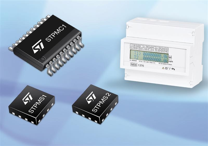 STMicroelectronics Unveils Solution for Modular Smart Meters