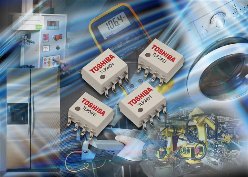 Toshiba Expands Family of SO8 Photocouplers for Industrial, Home Appliance and Test & Measurement Designs