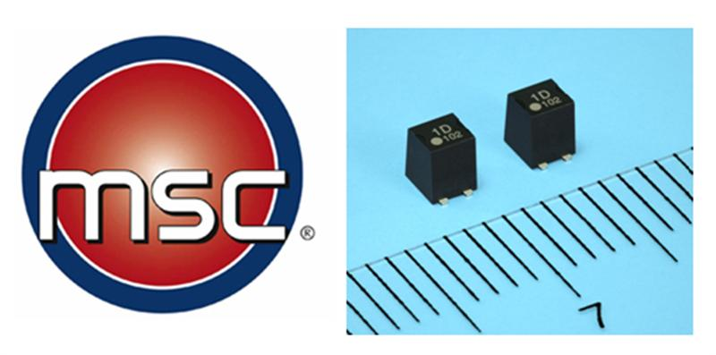 MSC Stocks Ultra-Compact Optical-Coupled MOSFET: 30pA Leakage Current & 0.75pF Output Capacitance