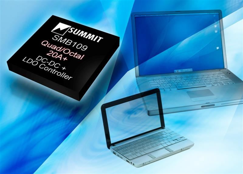 Summit's Programmable Multi-Output DC-DC Power Manager Simplifies Complex Power System Designs