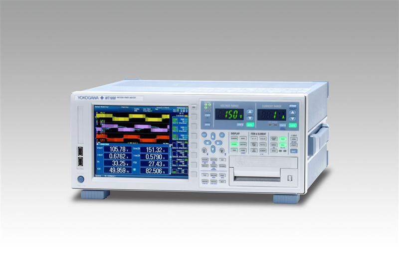 Yokogawa's Precision Power Analyser Offers Innovative Measurement Functions