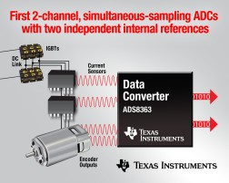 TI Simplifies Design with the first 2-Channel, Simultaneous-Sampling ADCs