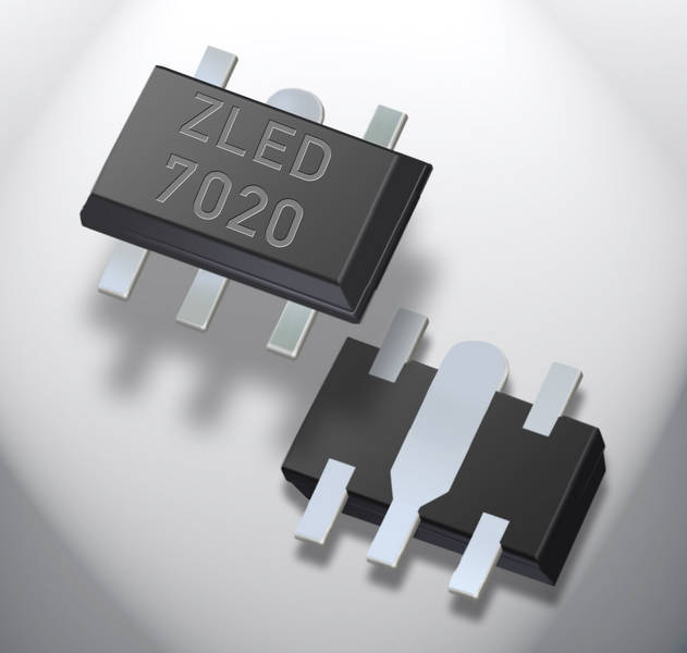 ZMDI LED Driver ICs Boost Lumen-Per-Watt Efficiency While Keeping Bill of Material Low