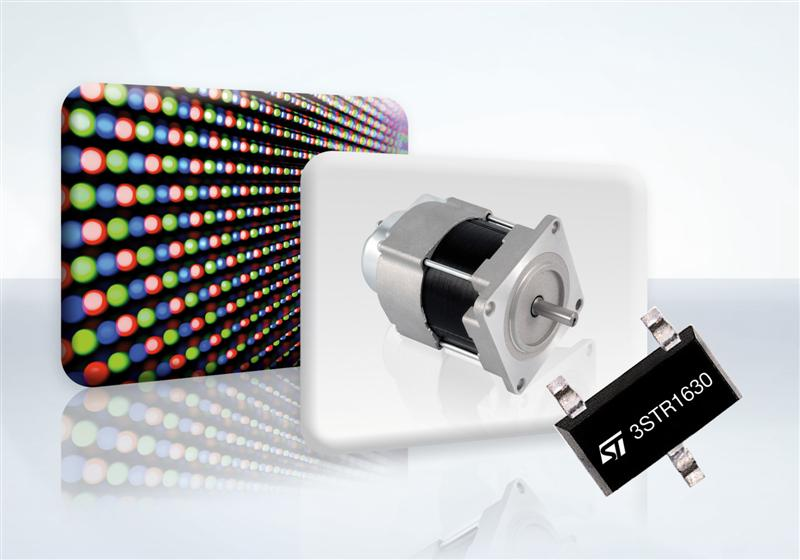 STM Boosts Bipolar Power Transistor